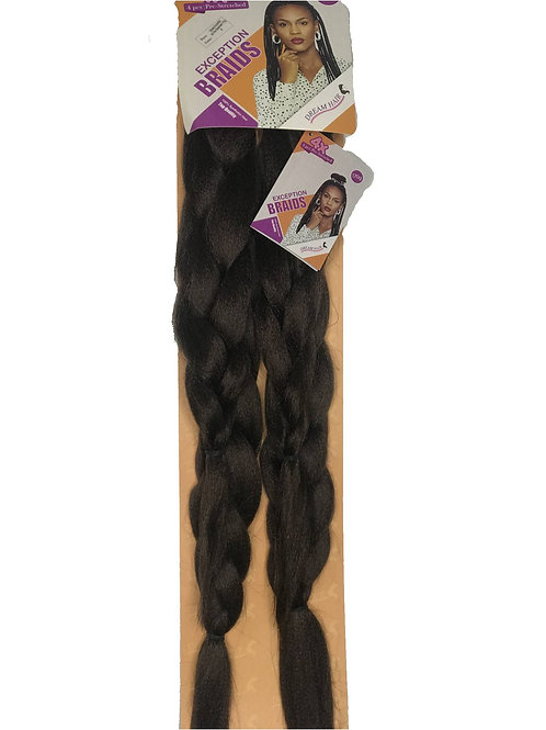 "Dream Hair Braids Exception 40""/101cm 170g Synthetic Hair"