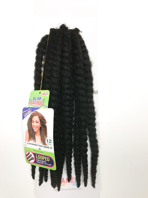 Janet Collection Slim Mambo Twist Braid Handmade Synthetic Hair