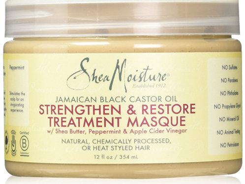 Shea Moisture Jamaican Black Castor Oil Strengthen & Restore Treatment Masque 35