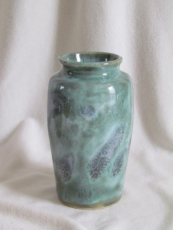 """vase """"vert océan"""""""