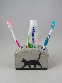 Porte-Dentifrice Chat
