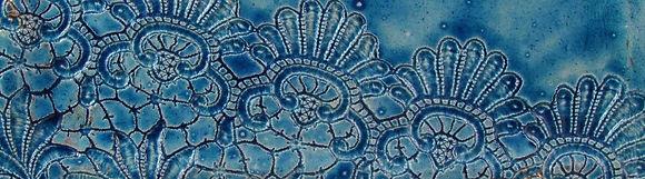 céramique dessous de plat raku fait main pièce unique Danièle et Jean-Pierre MEYER