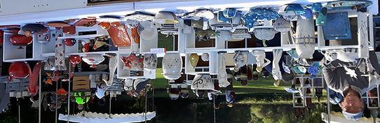 céramique grès raku sculpture fait main pièce unique Danièle et Jean-Pierre MEYER