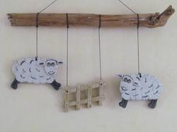 Suspension Moutons
