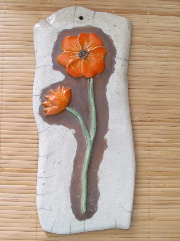 Tableau Coquelicot Orange