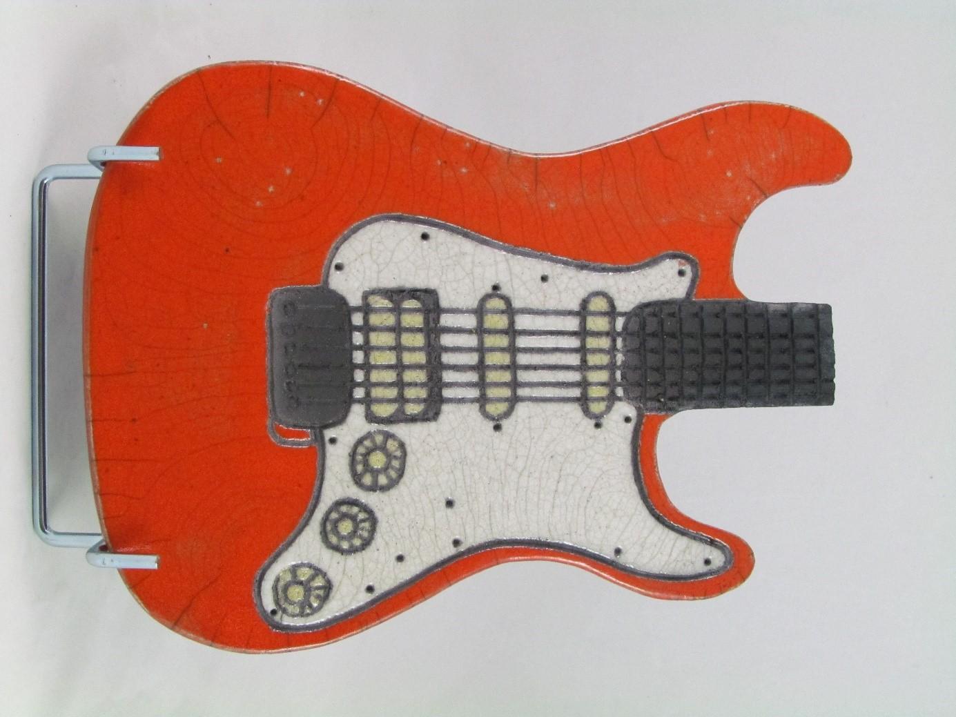 Dessous-Plat Guitare élect.