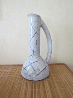 """Vase """"Cruche"""" Blanc"""