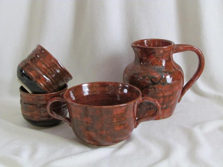 tasse bol et pichet