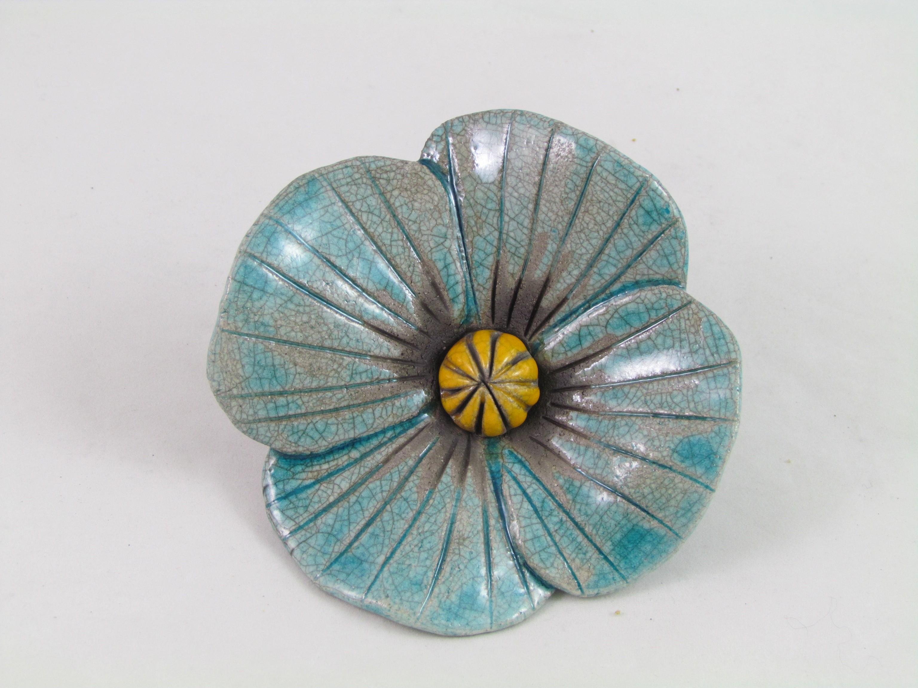 Fleur Turquoise
