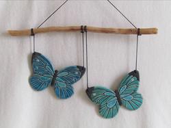 Suspension Papillons
