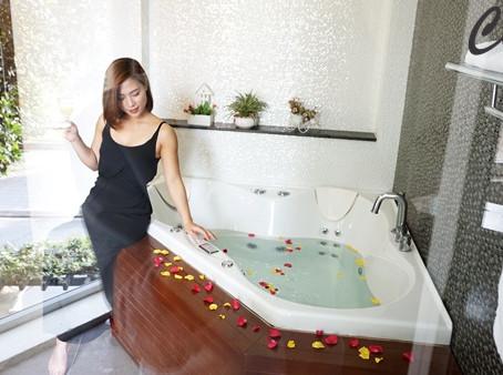 Biến phòng tắm thành không gian trong mơ