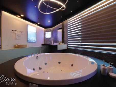 Đắm chìm trước vẻ đẹp sang trọng của bồn tắm Clara