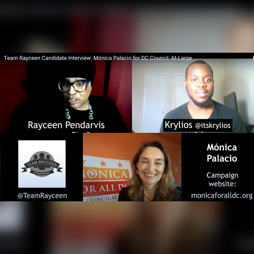 YouTube Live: Mónica Palacio- Follow Up Interview with Krylios and Team Rayceen