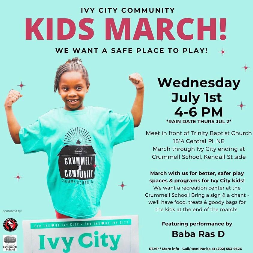 Ivy City Community Kids March