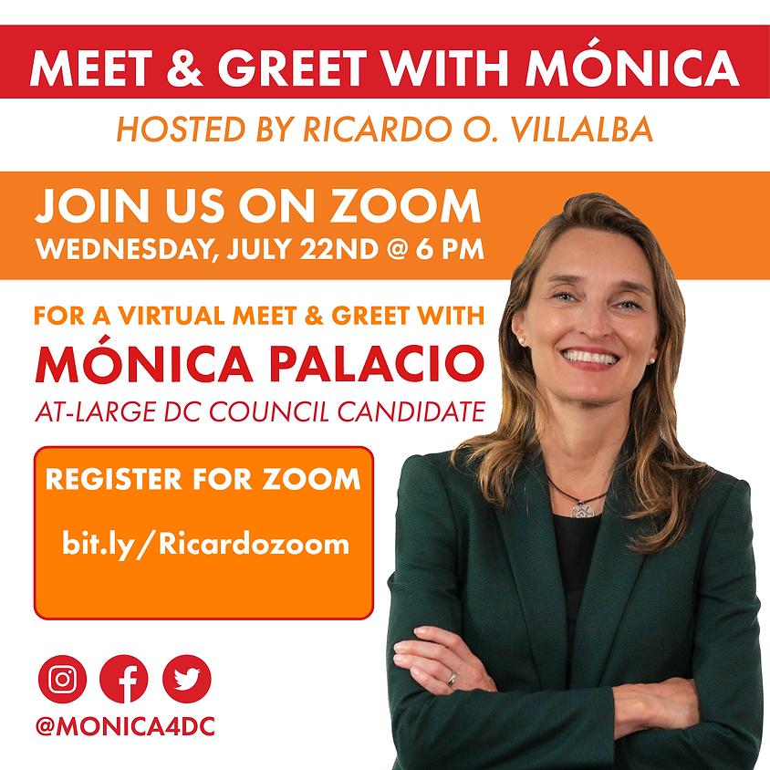 Virtual Meet & Greet with Monica