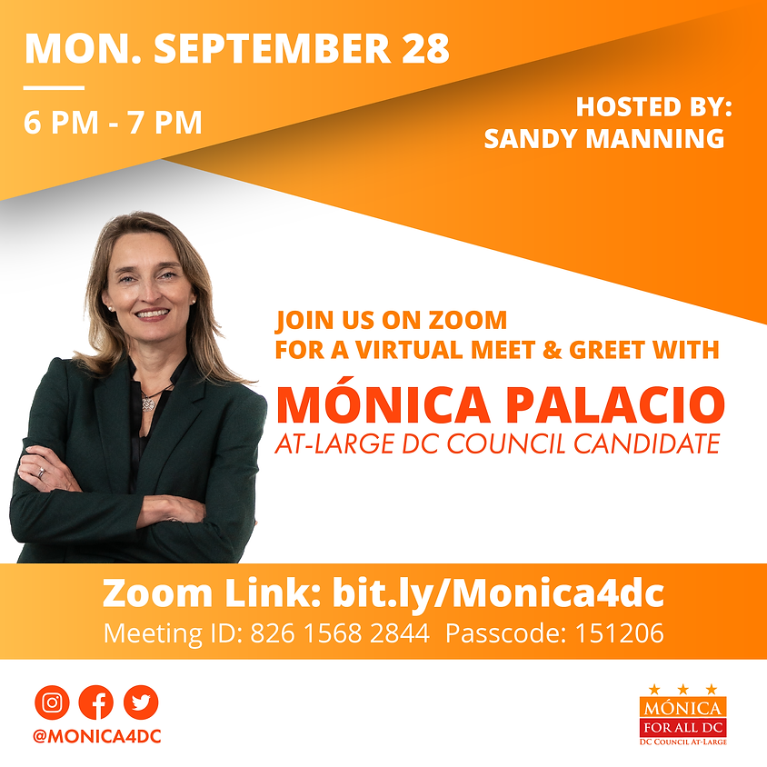Meet and Greet with Mónica Hosted by Sandy Manning