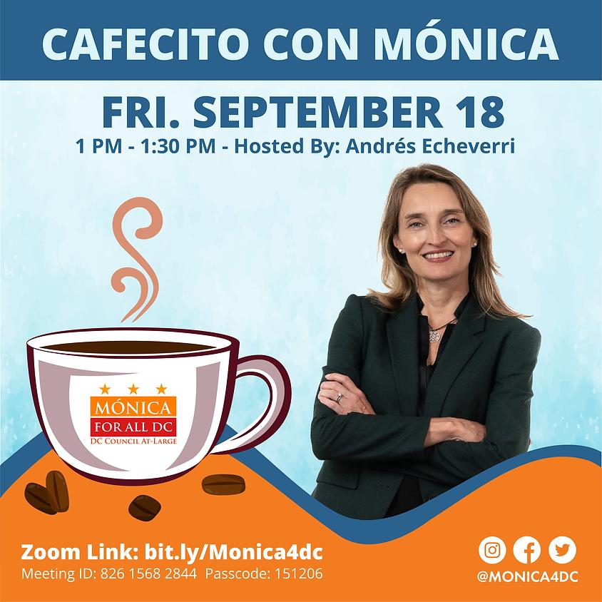 Cafecito con Mónica Hosted by Andrés Echeverri