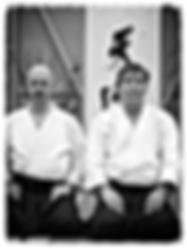 Jannie Gisberts & Sensei Kenji Shimizu