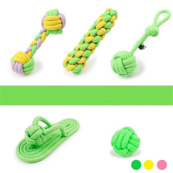 Набор игрушек из веревки