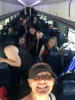 Headed for Whitewater Rafting