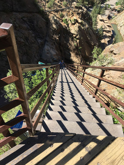 Stairs to Seven Falls