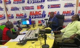 Mr. Nagbe and Ambassador Reed on the radio for ID Day.jpeg
