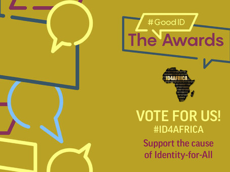 Vote for ID4Africa in the #GoodID Awards