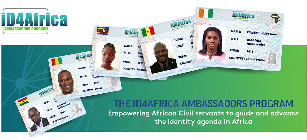2019 Ambassadors Program, Website Header