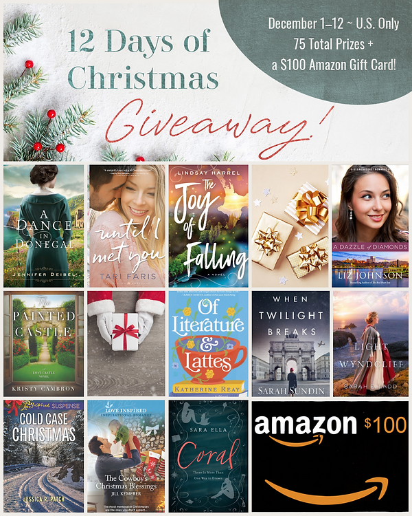 12 Days of Christmas Giveaway 2020 - 1.p