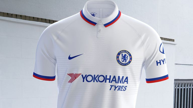 Nike produced this mod inspired away kit for Chelsea FC
