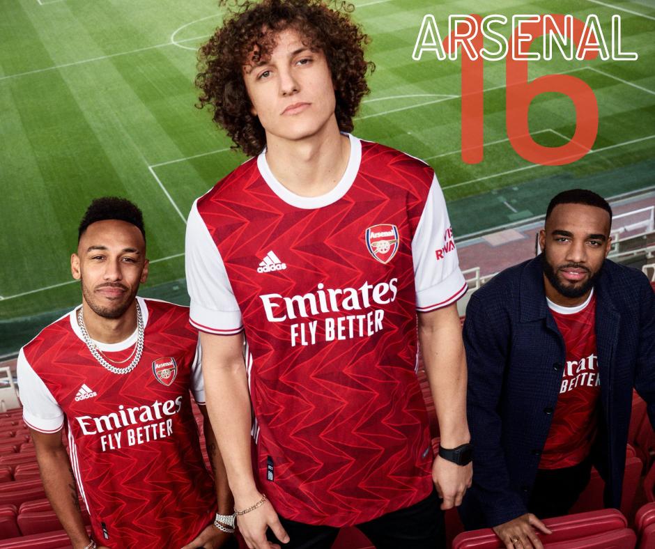 Arsenal's new home kit