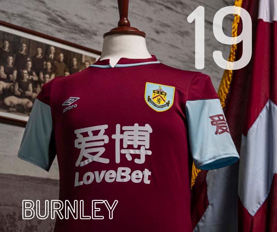 Burnley Home Kit 2020/21
