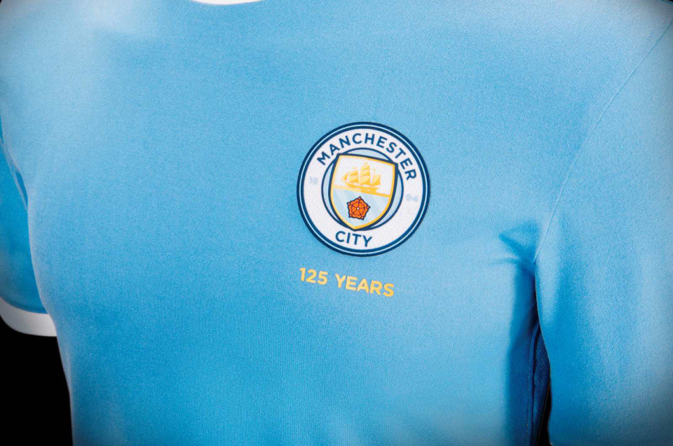 Man City played in a one-off special kit for Community Shield
