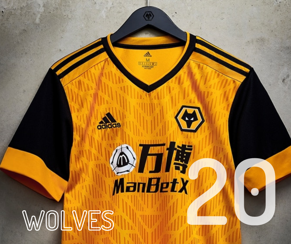 Wolves home kit 2020/21