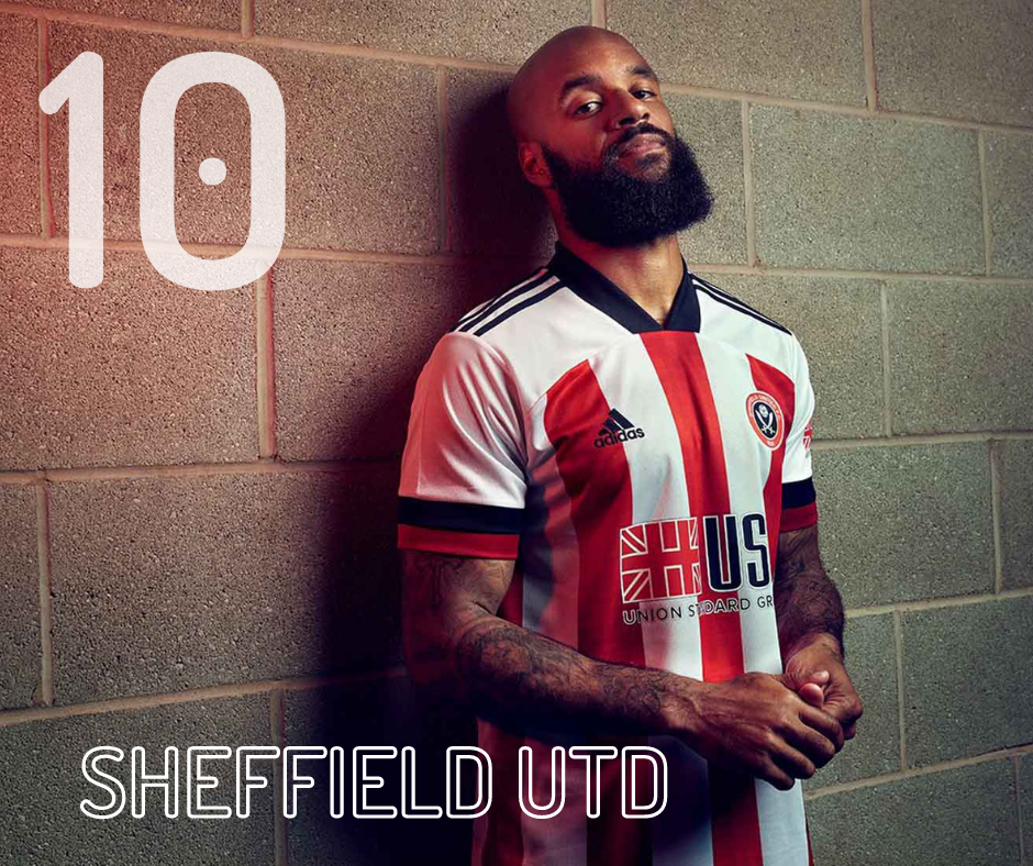 Sheffield United home kit 2020/21