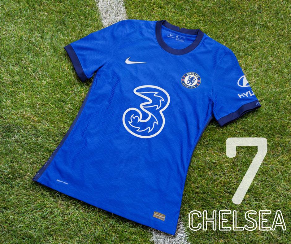 Chelsea home kit 2020/21