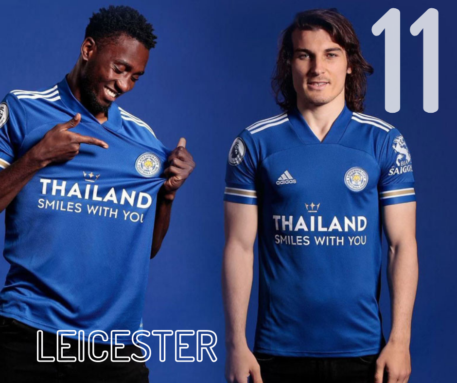 Leicester City home kit 2020/21