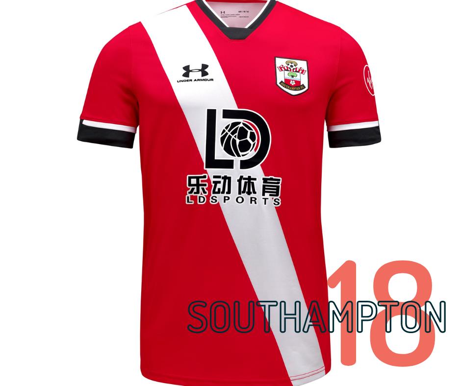 Southampton home kit 2020/21