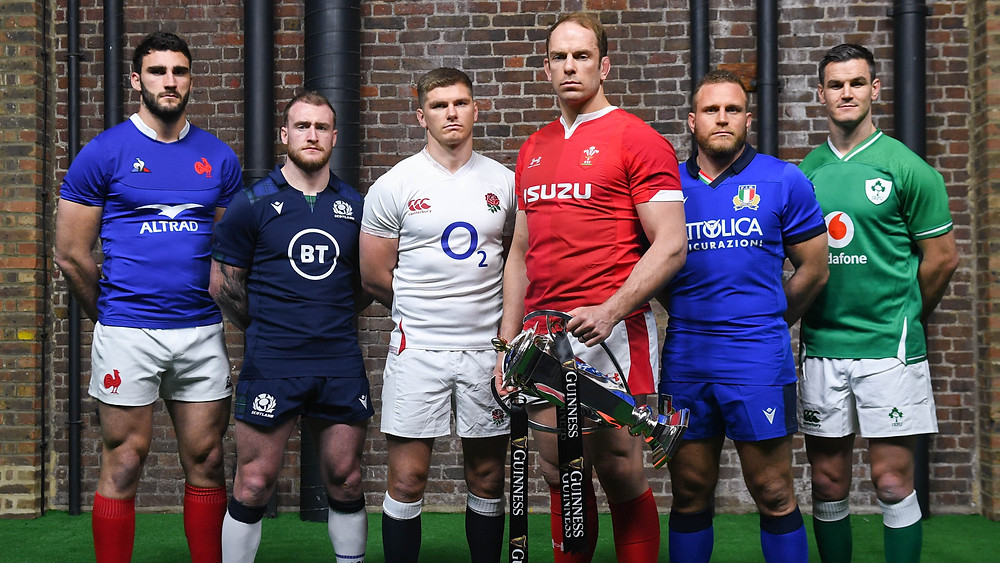 Alun Wyn Jones at Six Nations launch.