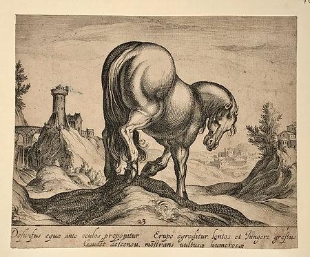 Egbert VAN PANDEREN (c.1581-1637) after Antonio Tempesta