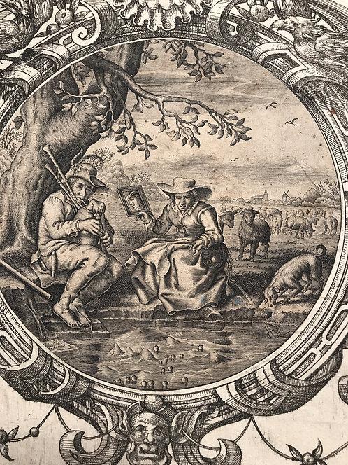 Adriaen Pietersz van de Venne, Dutch old master print