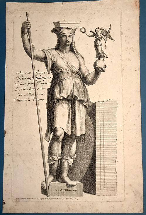 La noblesse  Raphael d'Urbin  Vatican à Rome