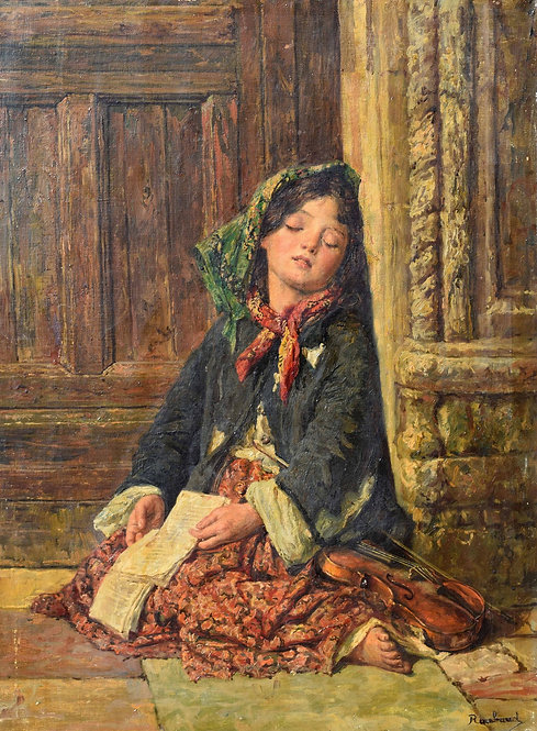 Franz Roubaud Oil Painting