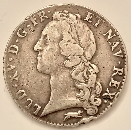 LOUIS XV (1715-1774), Ecu au bandeau, 1761R