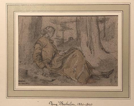Auguste Bachelin eleven drawings