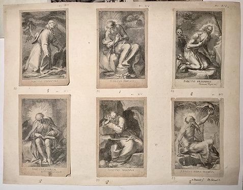 Herman Weyen six saints Hermits