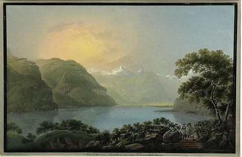 Johann Ludwig (Louis) Bleuler Lac Lucerne