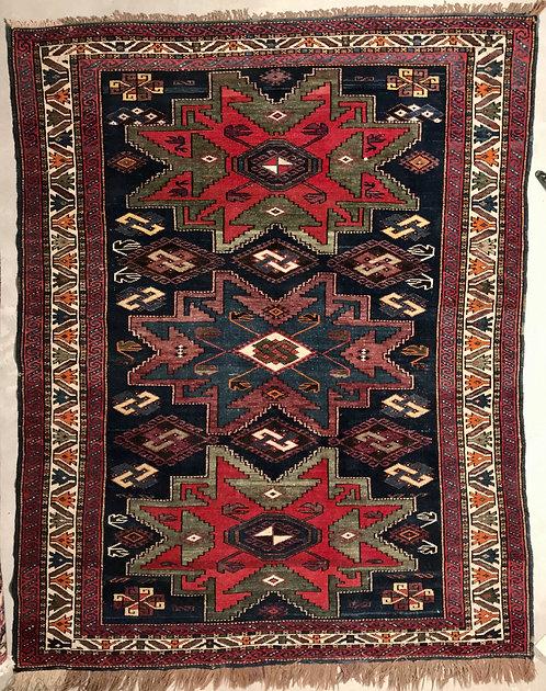 Antique Caucasian Shirvan Lesghi Carpet