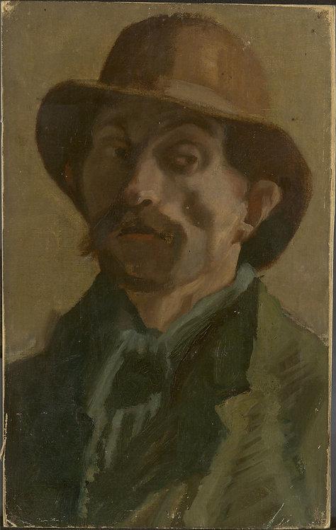 Vincent van Gogh Self Portrait in Paris