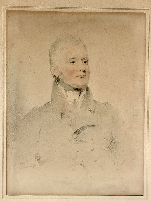Portrait of Thomas Powys 2nd Baron of Lilford by Joseph Slater